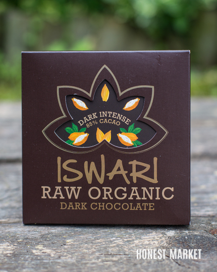 Čokoláda RAW vegan 85% kakao dark intense BIO 75g