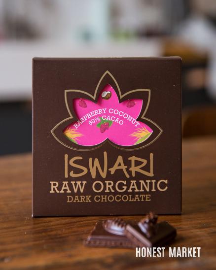 Čokoláda malina/kokosový krém 80% RAW BIO 75g