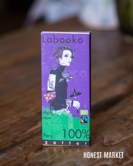 Čokoláda tmavá z Peru BIO 100% 2x32,5g