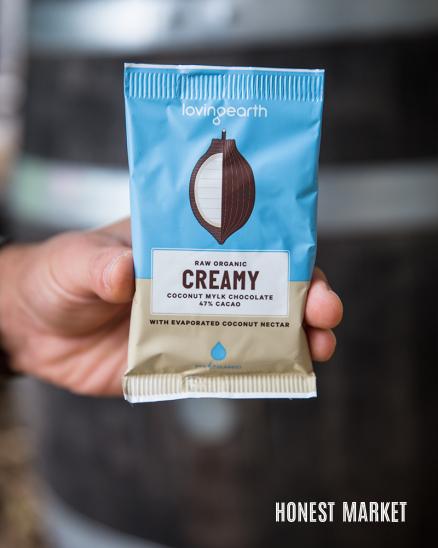 Veganská mléčná raw čokoláda 47% kakaa 30g