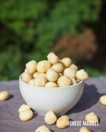 Makadamové ořechy 200g