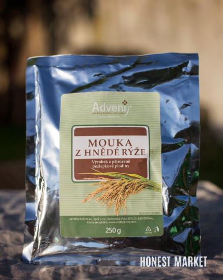 Mouka z hnědé rýže 250g