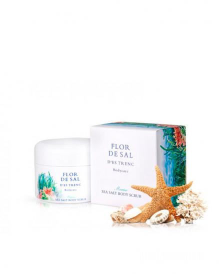 Luxusní tělový peeling s panenskou mořskou solí a vůní moře