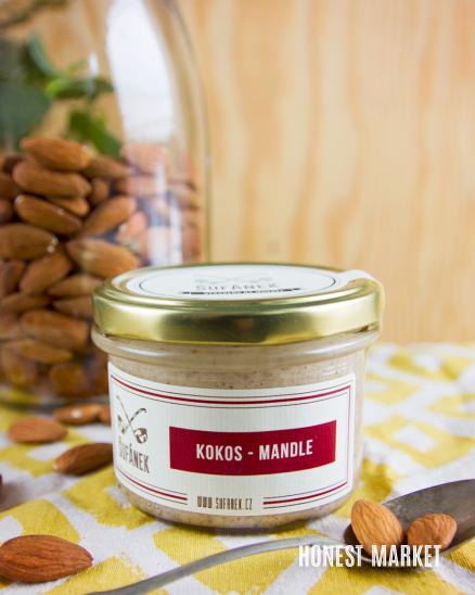 Kokosovo mandlové máslo 190g