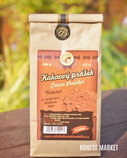 Kakaový prášek natural RAW 200g
