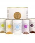 Sůl solný květ Sada 5ti druhů v dárkovém balení 5x50 g BIO