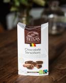 Kakaové boby v hořké čokokoláda 82% BIO 100g