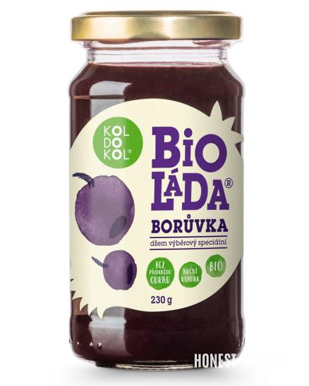 Bioláda borůvka 230 g BIO