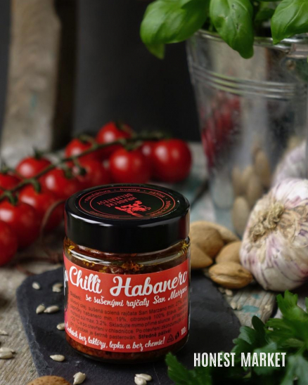 Pasta Chilli s rajčaty 100 g