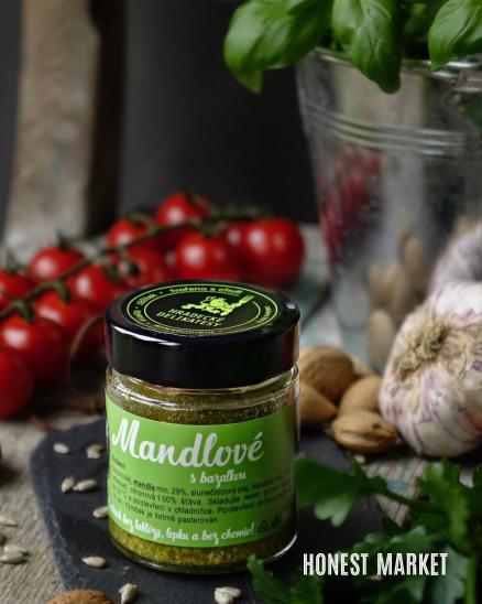 Pesto Mandlové 100 g
