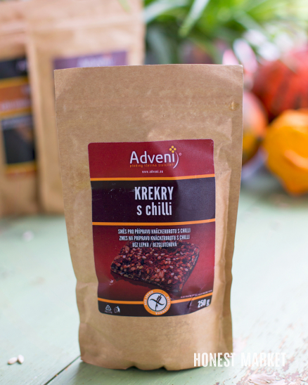 Krekry s chilli 250g