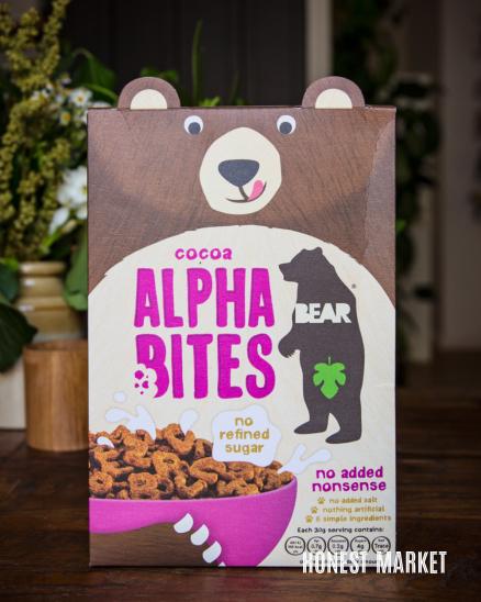 Dětské kakaové cereálie bez cukru 375g