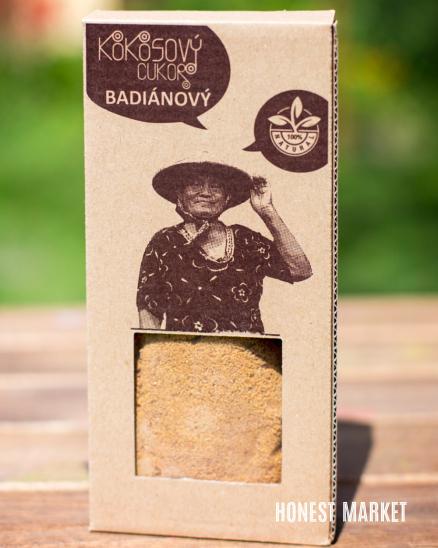 Kokosový cukr badiánový bio 100g