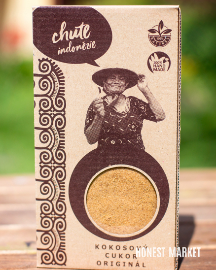 Kokosový cukr vanilkový 100g