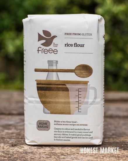 Rýžová mouka hladká 1kg