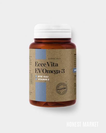 Omega-3 mastné kyseliny, 60 kapslí