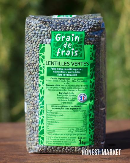 Čočka zelená 1kg
