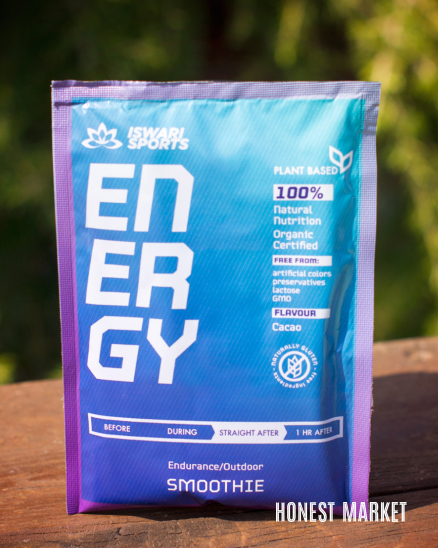 Smoothie ENERGY BIO- ihned po skončení sportovního výkonu 75g