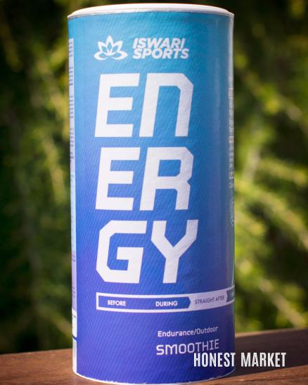 Smoothie ENERGY BIO- ihned po skončení sportovního výkonu  600g