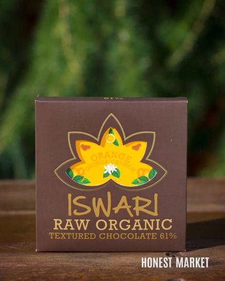 Čokoláda pomeranč quinoa RAW BIO 75g