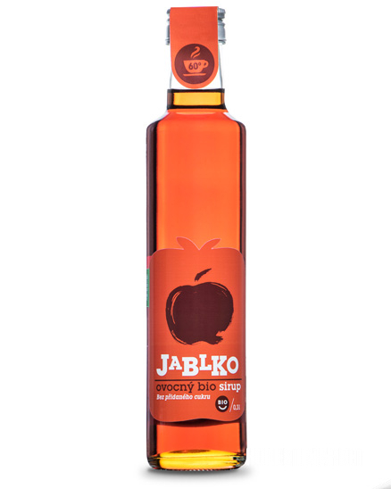 Jablečný sirup BIO 330ml