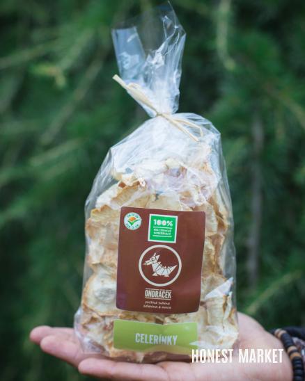 Celer sušený kořen - kostky 50g