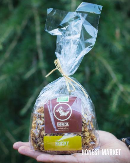 Hrušky sušené-kostky 150g