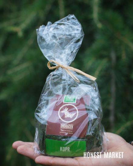 Kopr sušený list-špičky 50g