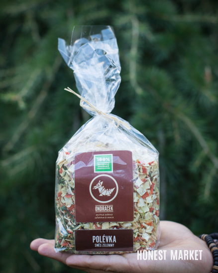Polévková směs sušená zelenina 200g
