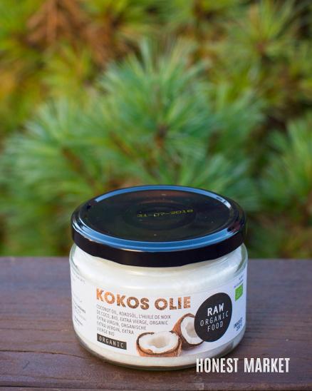 Kokosový olej extra panenský RAW 200g
