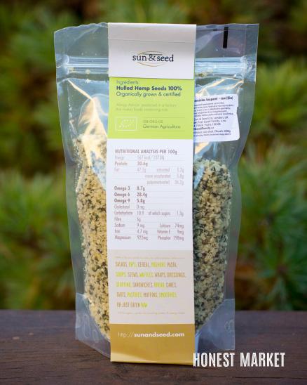 Konopná semínka BIO loupaná 250g