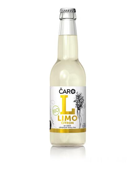 Limonáda ČARO Citrón 330 ml BIO
