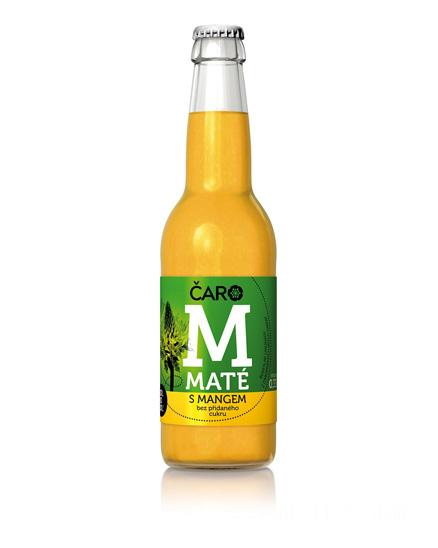 Limonáda ČARO Mango a maté 330 ml