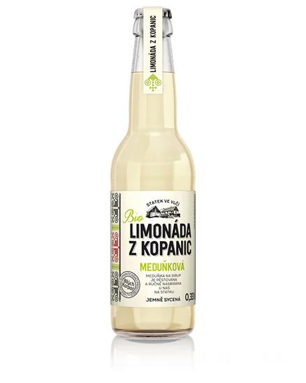Limonáda Meduňková 330 ml BIO