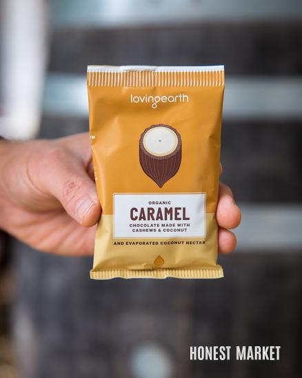 Čokoláda karamel BIO 30g