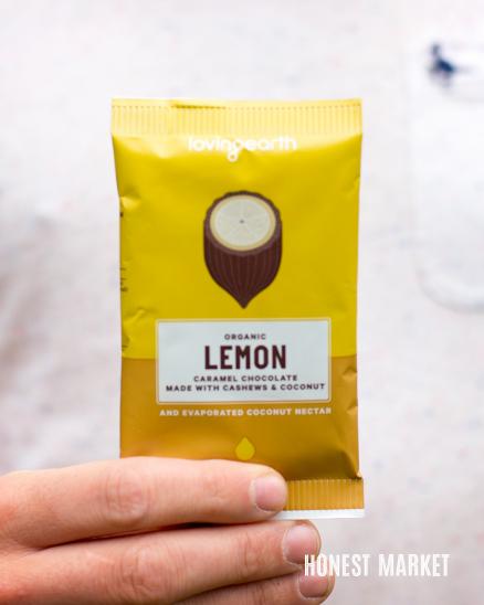 Veganská citrónová čokoláda BIO 30g