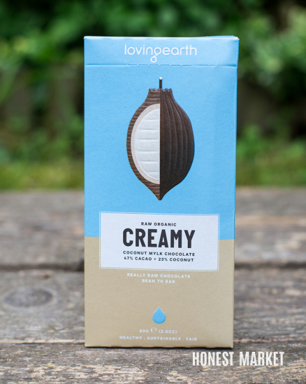 Veganská tmavá 55% raw čokoláda BIO 80g