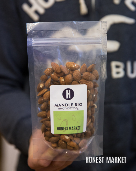 Mandle natural BIO 150g