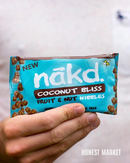 Kokosová blaženost - ovocné a oříškové bonbónky 40g