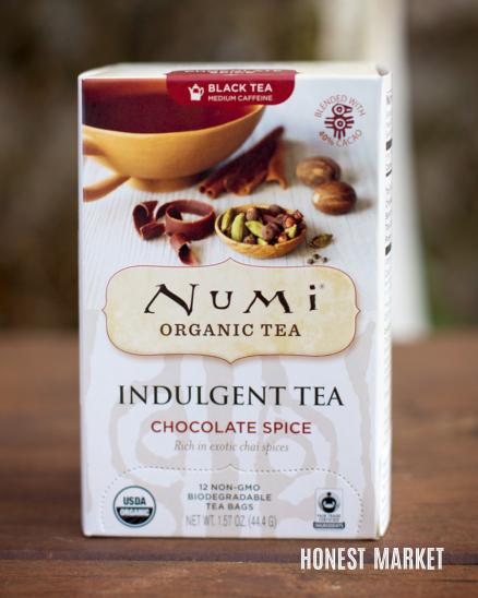 Čokoladový čaj kořeněný BIO