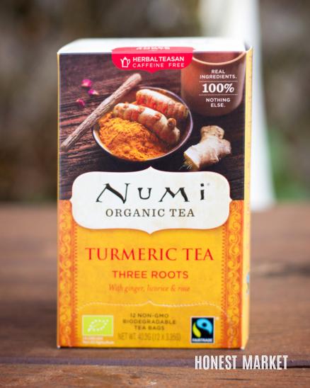 Kořeněný čaj kurkuma, zázvor, lékořice BIO