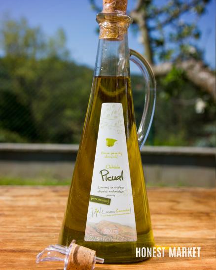 Olivový Olej nefiltrovaný PICUAL karafa 500ml
