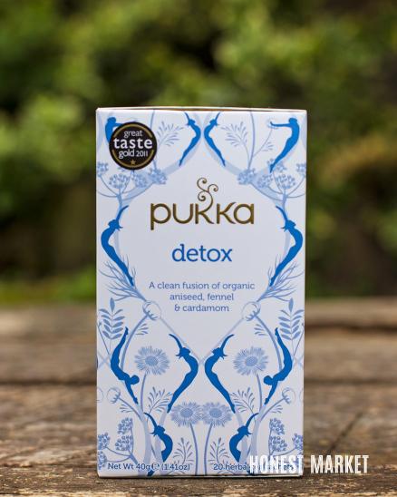 Ajurvédský čaj Detox BIO 20 sáčků