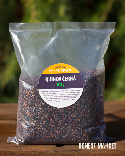 Quinoa černá 0,5kg