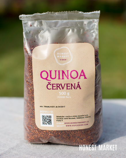 Quinoa červená, 500g