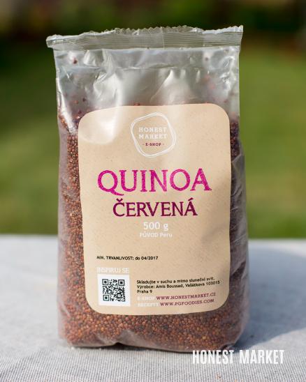 Quinoa červená 1 kg