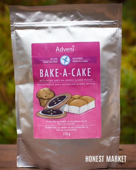 Bezlepková směs BAKE a CAKE 750g