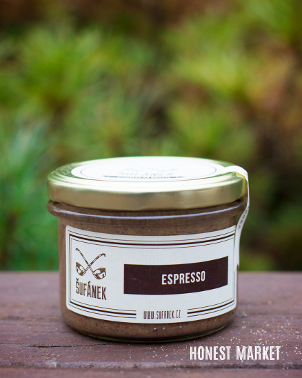 Oříškové máslo Espresso 190g