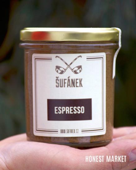 Oříškové máslo Espresso 330g