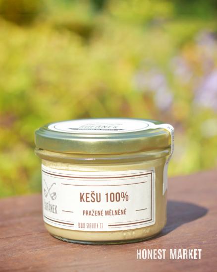 Kešu máslo pražené 100%, 190g